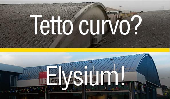 riqualificazione tetto curvo Elysium